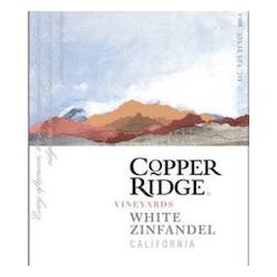 Copper Ridge White Zinfandel image