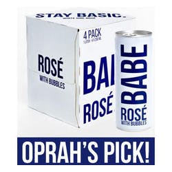 Babe 'Sparkling' Rose 4-187ml Cans image