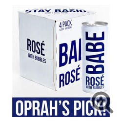Babe 'Sparkling' Rose 4-187ml Cans