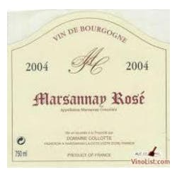 Domaine Collotte Marsannay Rose 2016 image