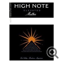 High Note 'Elevated' Malbec 2015