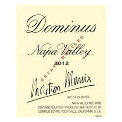 Dominus Proprietary Red 2014 image