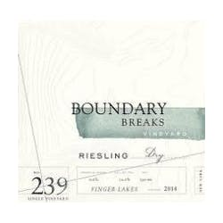 Boundary Breaks 'No. 239' Dry Riesling 2016