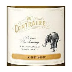 Au contraire 'Mighty Mouse' Chardonnay 2014