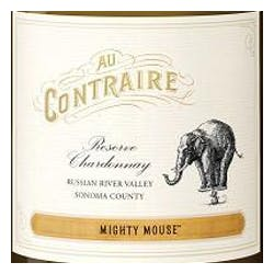 Au contraire 'Mighty Mouse' Chardonnay 2014 image