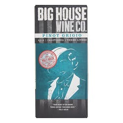 Big House Wine Co. Polly Adler Pinot Grigio 3.0L image