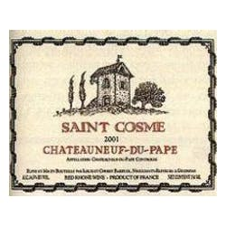 Chateau St Cosme Chateauneuf du Pape  2012 image