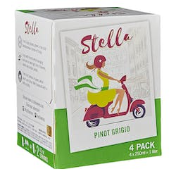 Stella Pinot Grigio 4-250ml Cans image