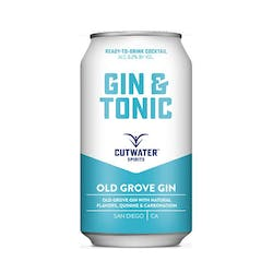 Cutwater Spirits Gin & Tonic Cans