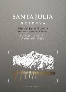 Santa Julia Mountain Red 2016