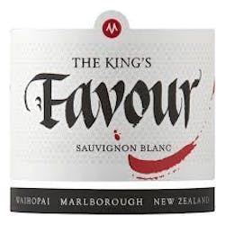 Marisco Vineyards 'The Kings Favour' Sauvignon Blanc 2016 image