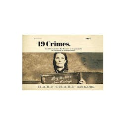 19 Crimes 'Hard' Chardonnay 2018 image