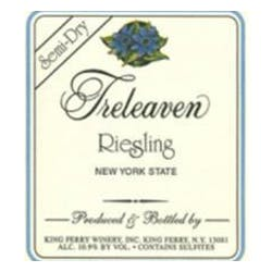 Treleaven by King Ferry Winery Semi Dry Riesling 2015 image