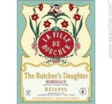 The Butcher's Daughter 'Reserve' Bordeaux 2016