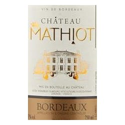 Chateau Mathiot Bordeaux 2015 image