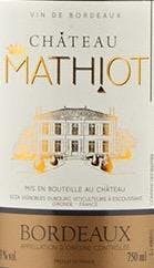Chateau Mathiot Bordeaux 2015