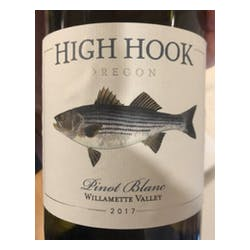 Fish Hook Vineyards High Hook Pinot Blanc 2016 image