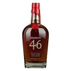 Maker's Mark '46' Glass Set 750ml 2 Glass Set 94prf image