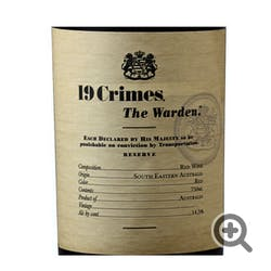 19 Crimes 'The Warden' Red Blend 2016