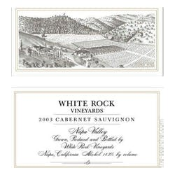 White Rock Vineyards Estate Cabernet Sauvignon 2013 image