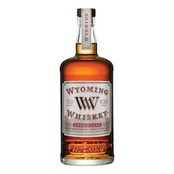 Wyoming Whiskey 100prf 750ml Double Cask Bourbon Whiskey image