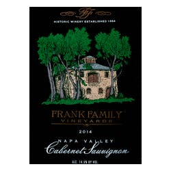 Frank Family Vineyards Cabernet Sauvignon 2014 image