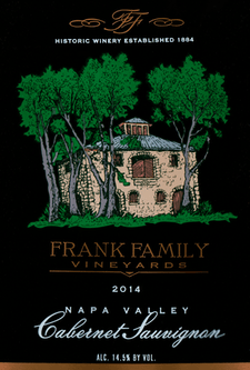 Frank Family Vineyards Cabernet Sauvignon 2014