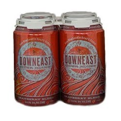 Downeast Cider 'Cranberry' 4-12oz Cans image