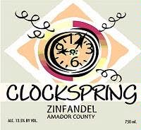 Clockspring Vineyard Zinfandel 2006
