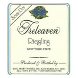 Treleaven by King Ferry Winery Semi-Dry Riesling 2016 image