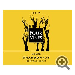 Four Vines 'Naked' Chardonnay 2017
