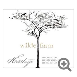 Wilde Farm 'Bedrock Vineyard' Heritage Blend 2015