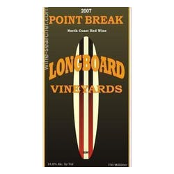 Longboard Vineyards 'Point Break' Red Blend 2015 image