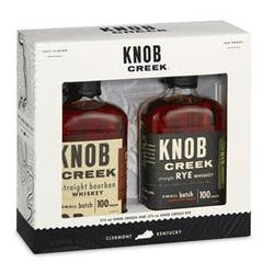 Knob Creek 375ml 2-Pk Gift Set image