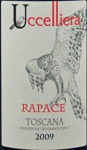Uccelliera 'Rapace' Sangivoese Blend 2014