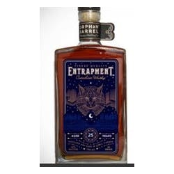 Orphan Barrel Entrapment Whiskey 25year image