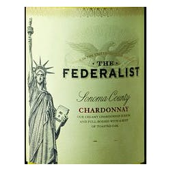 The Federalist Winery Chardonnay 2016 image