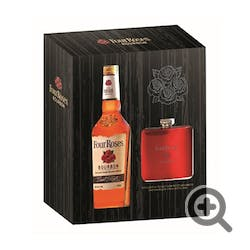 Four Roses 80prf 750ml w/Flask GIFT Bourbon