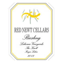 Red Newt Cellars 'Lahoma Knoll' Riesling 2014 image