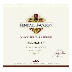 Kendall Jackson 'Vintners' Reserve Summation Red 2014 image