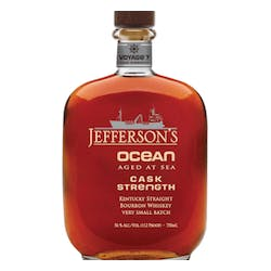 Jefferson's Ocean Aged at Sea Cask Strength Bourbon 112Prf image