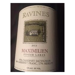 Ravines Wine Cellars 'Maximilien' Red Blend 2014 image
