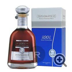 Ron Diplomatico '2002' Single Vintage  Rum 750ml