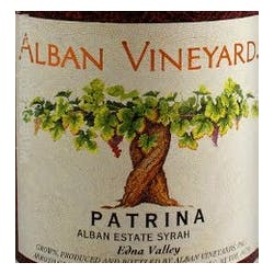 Alban Vineyards Patrina Syrah 2014 image