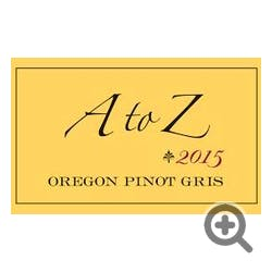 A to Z Pinot Gris 2016