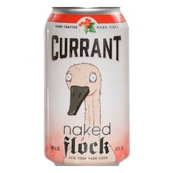 Naked Flock 'Currant Saison' Hard Cider 4-12oz Cans image