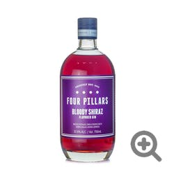 Four Pillars 'Bloody Shiraz Flavored' 75.6 Prf Gin 750ml