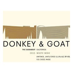 Donkey & Goat 'The Gadabout' White Blend 2016 image