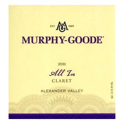 Murphy Goode 'All In' Claret 2011 image