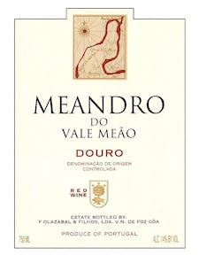 Quinta do Vale Meao 'Meandro' Red Blend 2015